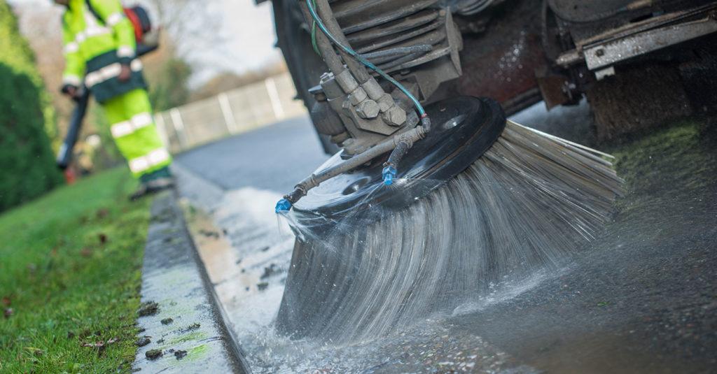 Disinfezione ordinaria delle strade