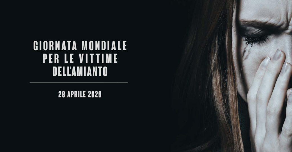 Giornata mondiale per le vittime dell'amianto 2020