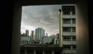 vista su condomini in una metropoli
