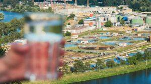 impianto di trattamento per acque industriali