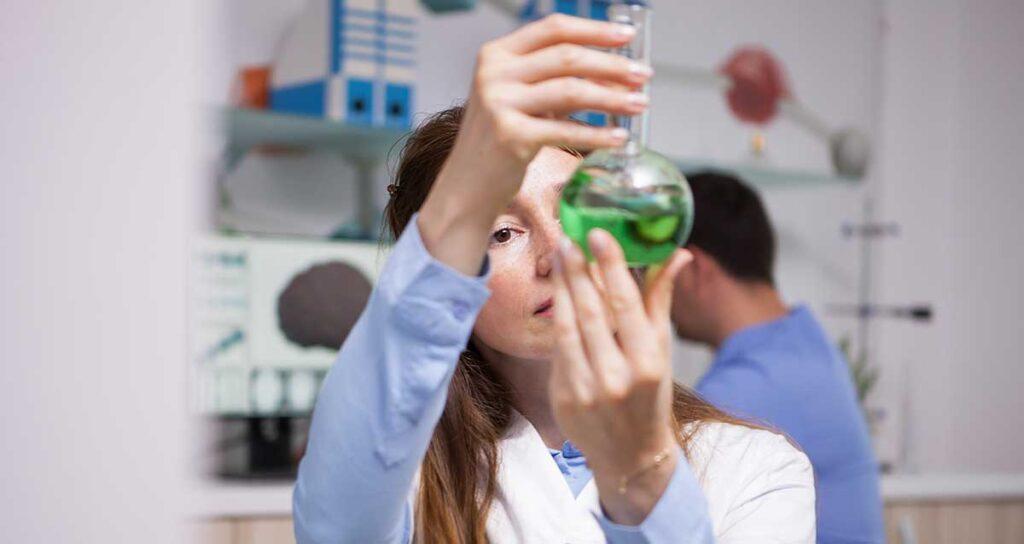 analisi di laboratorio nel settore alimentare