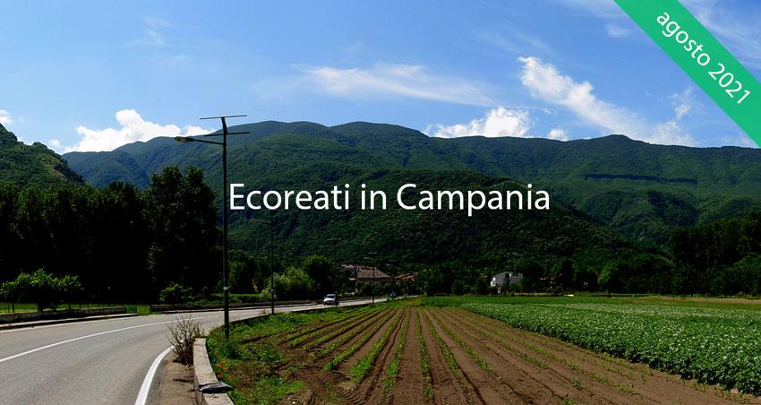 Il Parco del Partenio visto da Cervinara, in provincia di Avellino